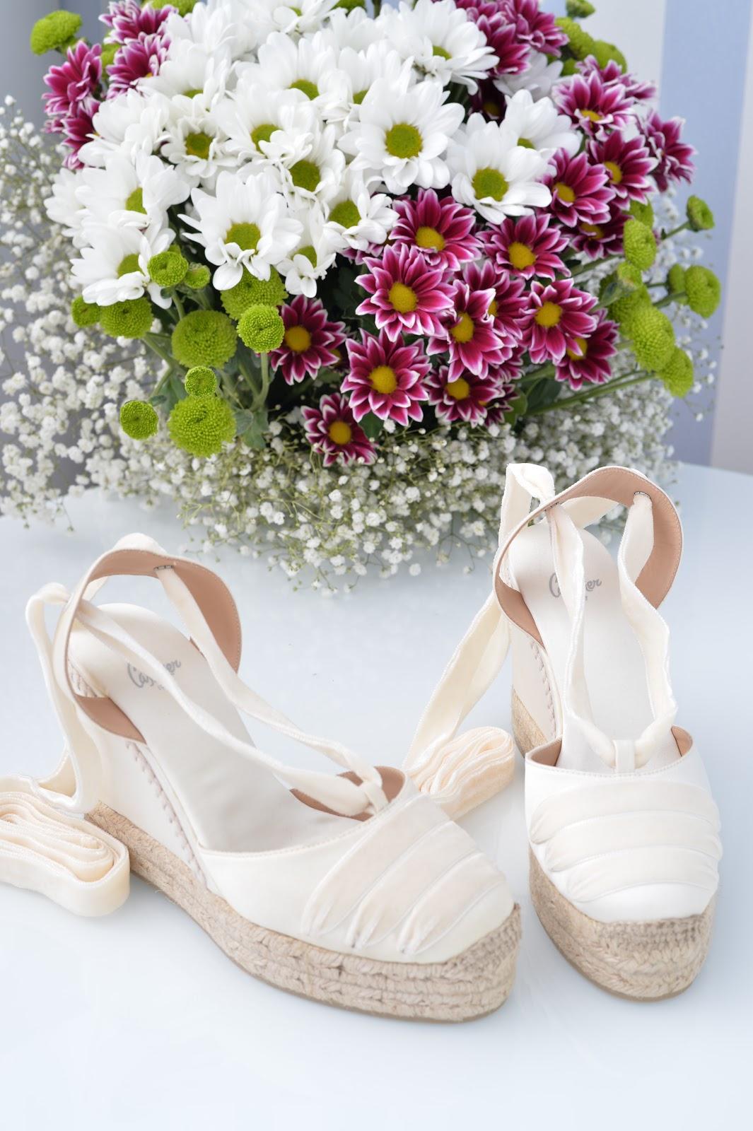castañer espadrilles bridal collection colección novias esparto