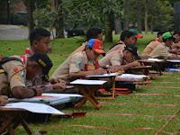 Pramuka Penggalang se-Jawa Timur Gelar Pelestarian Budaya Di Markas Divisi 2 Kostrad