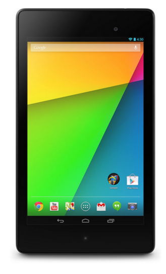 The new Google Nexus 7