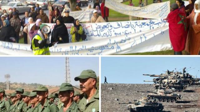 المنسيون :اسر شهداء الجيش المغربي /ما لا يعرفه المغاربة عن هذه الفئة