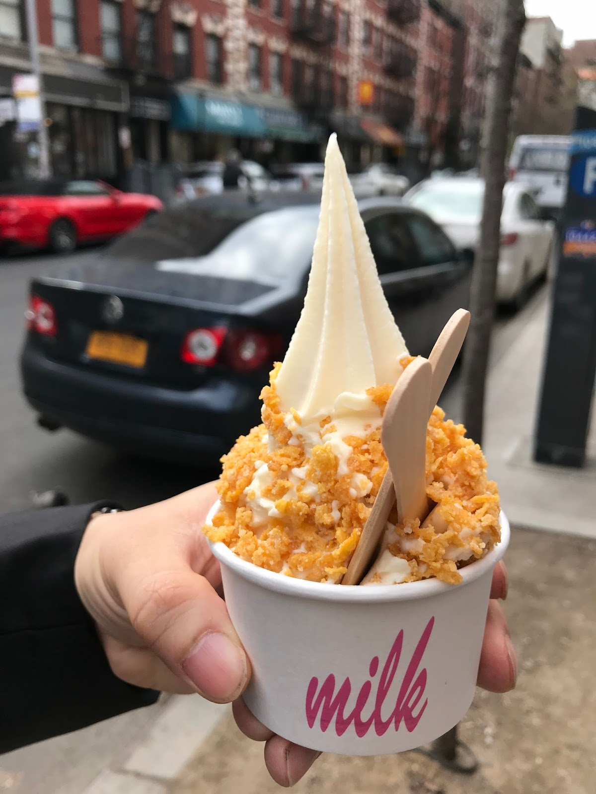 Small potatoes make the steak look bigger the cereal milk soft d recommended that we give the cereal soft serve from milk bar a shot since we were around the area 251 e 13th st ny 10003 tel 646 692 4154 ccuart Image collections