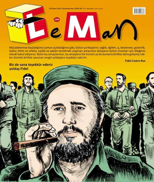 Leman Dergisi | 30 Kasım 2016 Kapak Karikatürü
