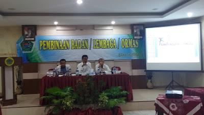 Bakesbang Pol Selenggarakan Kegiatan Pembinaan Lembaga Swadaya Masyarakat Serta Ormas Pamekasan