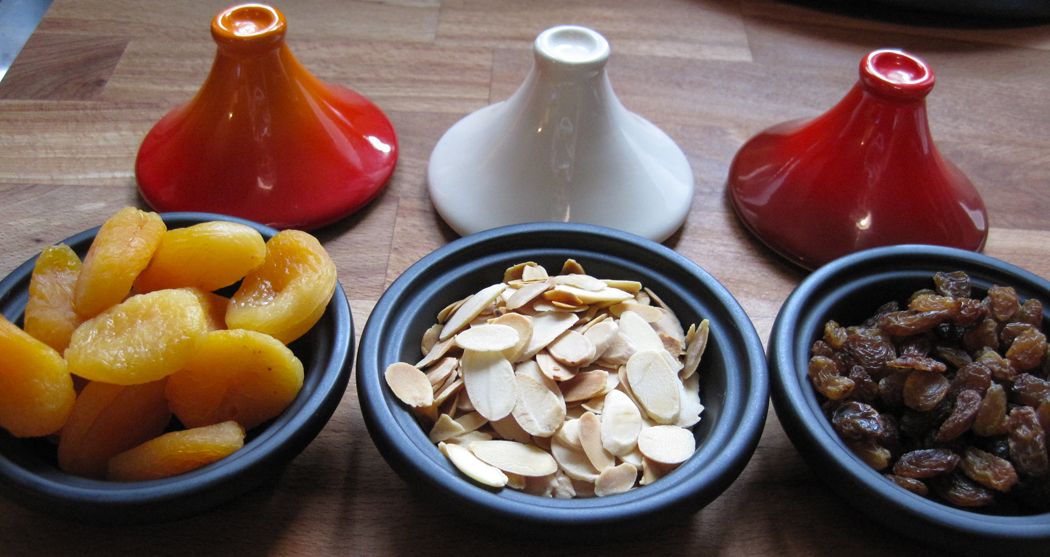 Mini Tagines with Fruit and Nuts