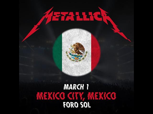 Metallica en Mexico 2017: Boletos