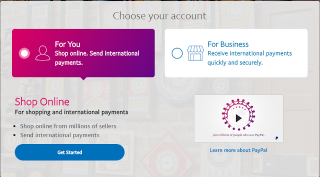 How to create Paypal Account for India