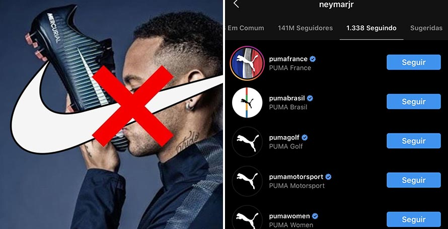 Neymar To Leave Nike For Puma Announcement Imminent Footy Headlines