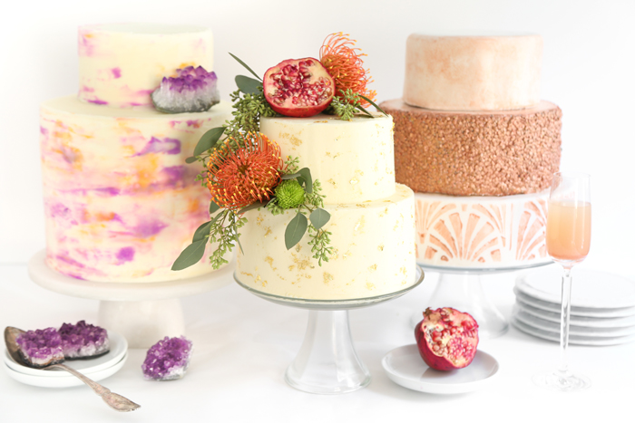 Three Easy and Trendy Ways to DIY a Wedding Cake ...