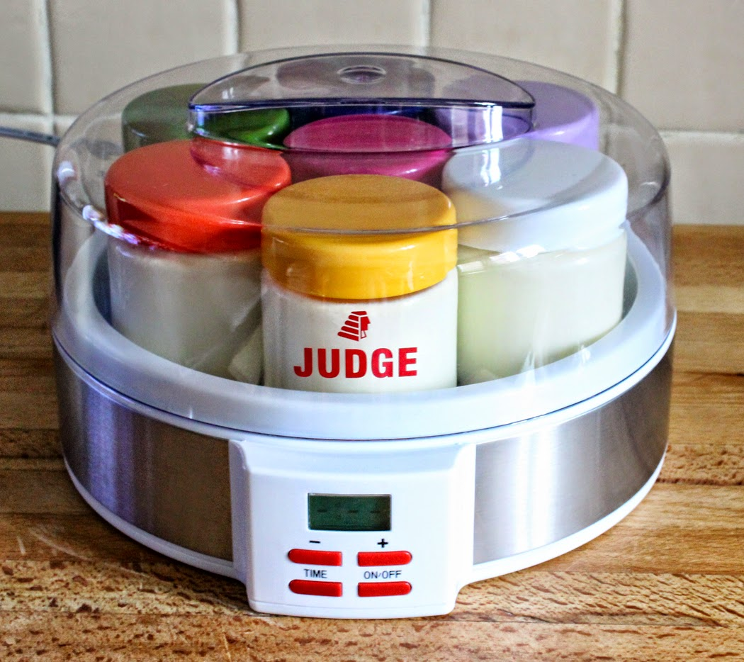 Judge Digital Yogurt Maker and Jars