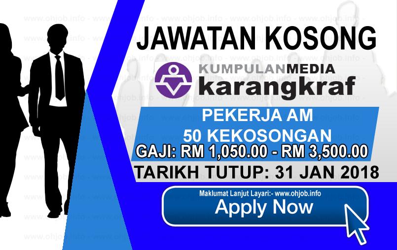 Jawatan Kerja Kosong Kumpulan Media Karangkraf logo www.ohjob.info januari 2018