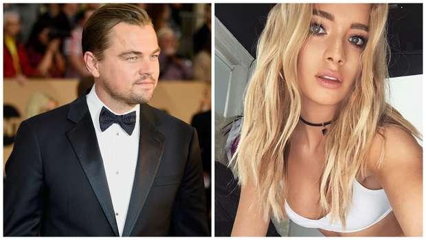 O ator Leonardo DiCaprio esta namorando a top Roxy Horner