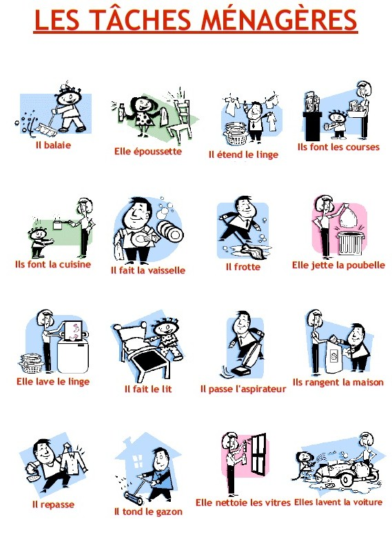 42 best images about autisme on Pinterest Marcel, Present tense - chore chart