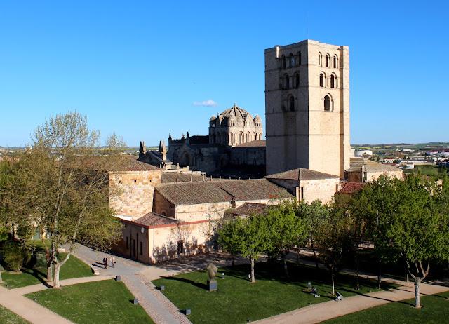 Catedral de Zamora desde el castillo