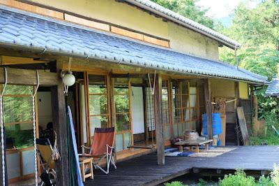 bio cafe COUDO 母屋と縁側