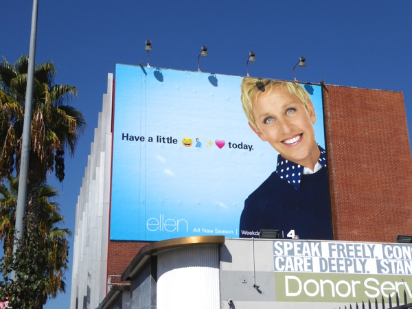 Ellen season 14 billboard