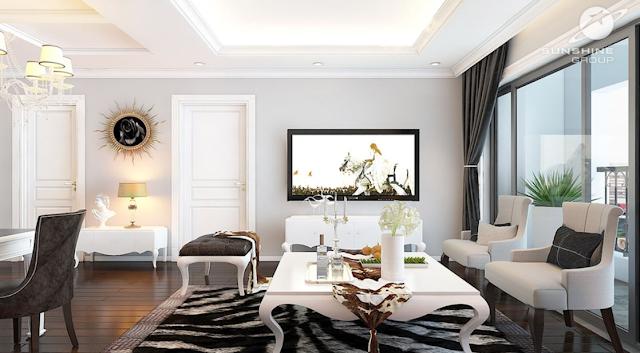 dự án sunshine riverside được thiết kế nội thất hoàn thiện cao cấp