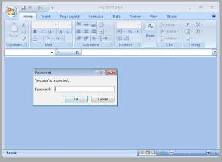 Cara Membuka Password Excel yang Lupa / File excel yang diproteksi