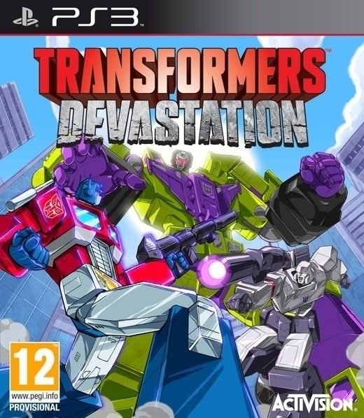 Transformers.Devastation.PS3 DUPLEX - Transformers Devastation PS3 DUPLEX