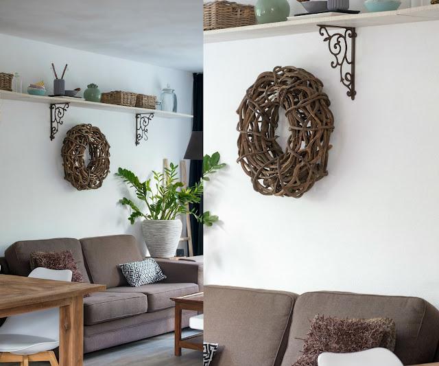 Woonkamer metamorfose en inspiratie landelijk for Accessoires woonkamer landelijk