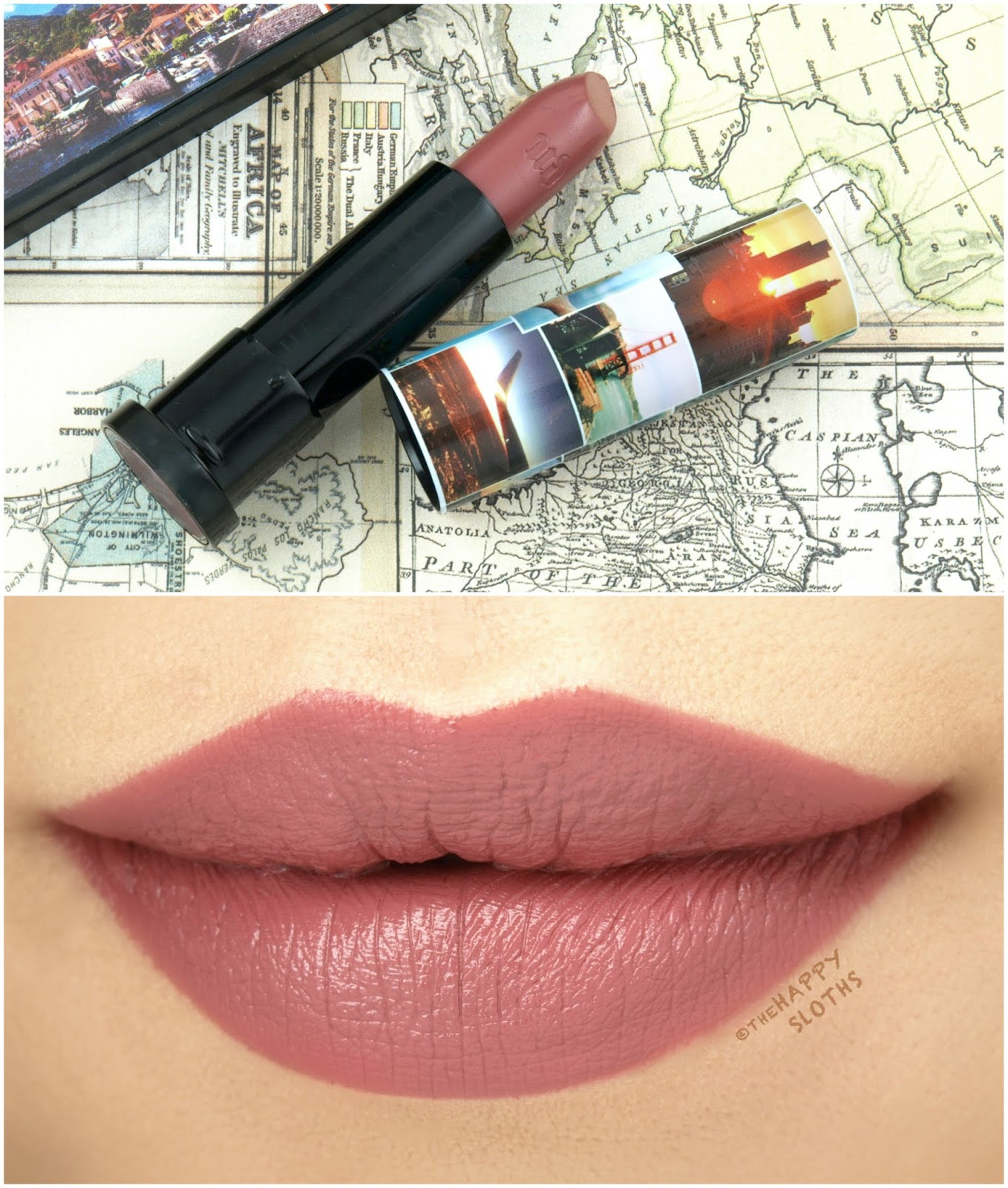 "Urban Decay | Born to Run Vice Lipstick in ""66"": Review and Swatches"