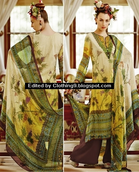 Pakistani Kameez With Palazzo Trousers
