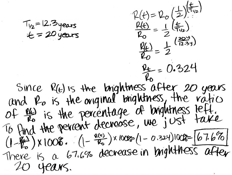 P Dog S Blog Boring But Important Physics Final Exam Problem Tritium Powered Luminous