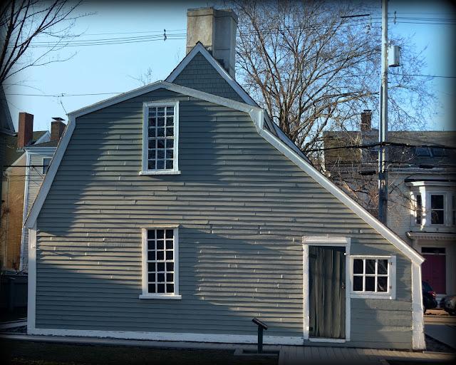 Narbonne House, Salem, Massachusetts, shadows