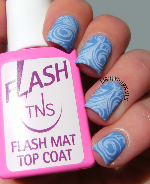 Waves stamping with TNS Heartbeats and BP-028 plate
