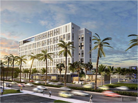 12 Story Hotel in Anaheim Will be Radisson Blu Hotel
