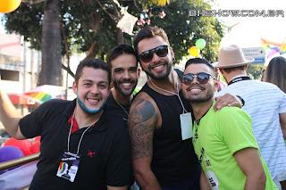 IMG 9985 - 13ª Parada do Orgulho LGBT Contagem reuniu milhares de pessoas