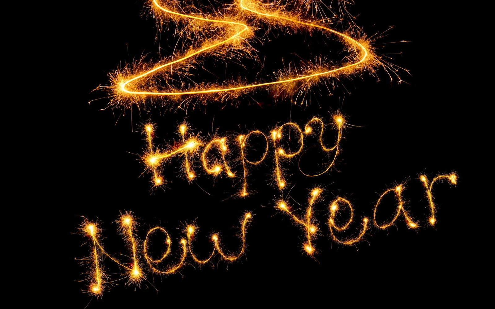 Happy New Year 2013 HD Wallpaper. 1600 x 1000.Happy New Year Animated Gif