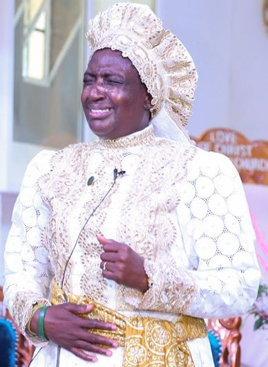 rev mother esther ajayi praying fraudsters