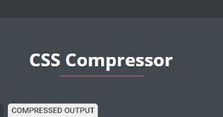 Menambah Kecepatan Loading Blog dengan Compress CSS