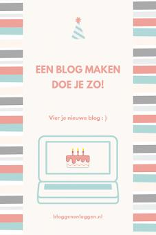 Blog beginnen?