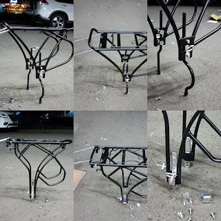 Rack Belakang Sepeda. Rack Touring. Rack Pannier