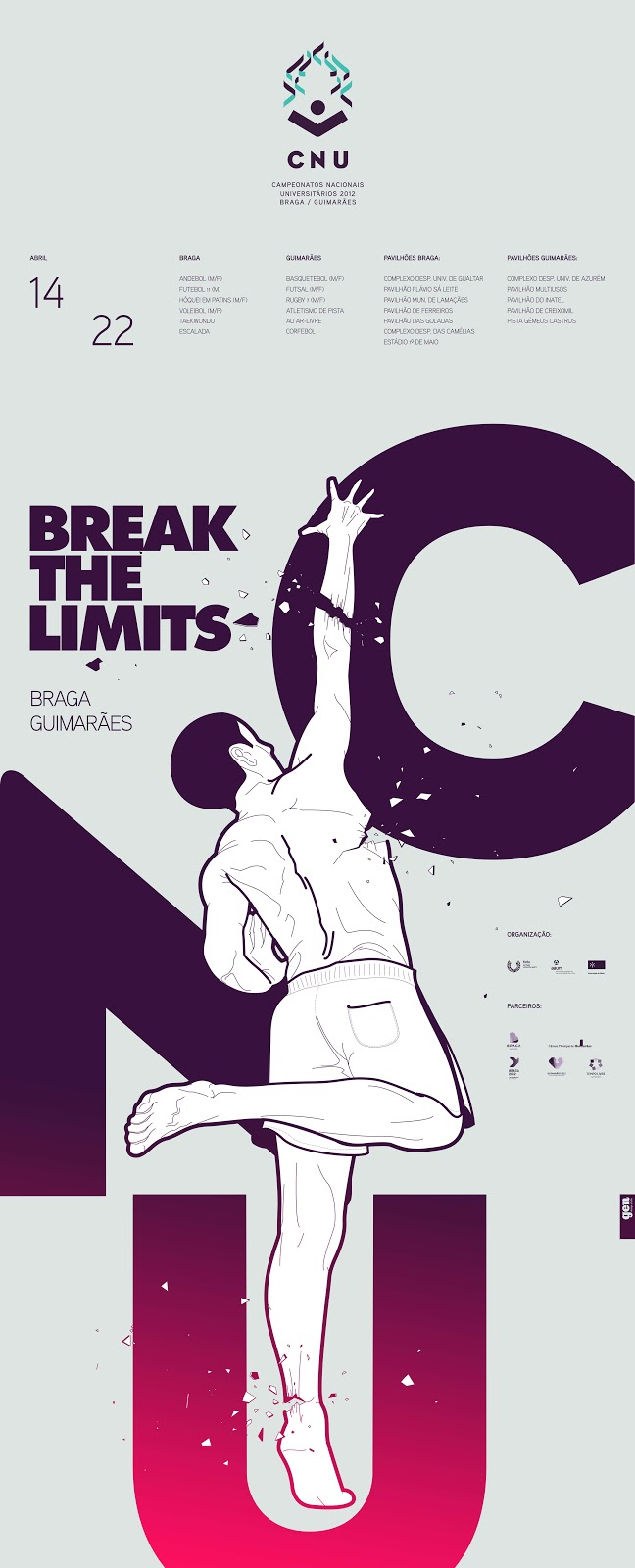 CNU-Break-the limits-Gen-Desing-Studio-sport-sillhouette