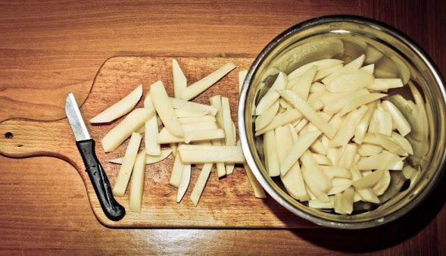 Afinal, a batata frita pode ser mais saudável do que a batata cozida
