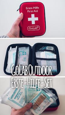 Gear of the Week #GOTW KW 49 | GoLab Outdoor Erste-Hilfe-Set | Erste-Hilfe beim Wandern | Verbandskasten-Outdoor