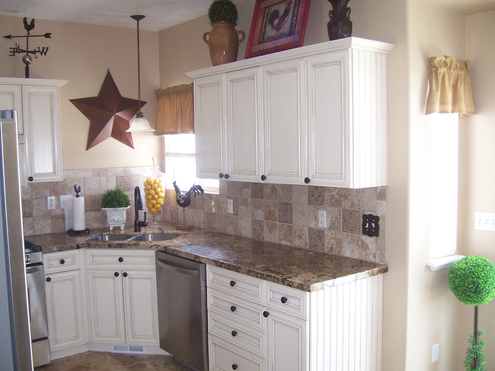 Cottage Charm Creations: Kitchen Before & After