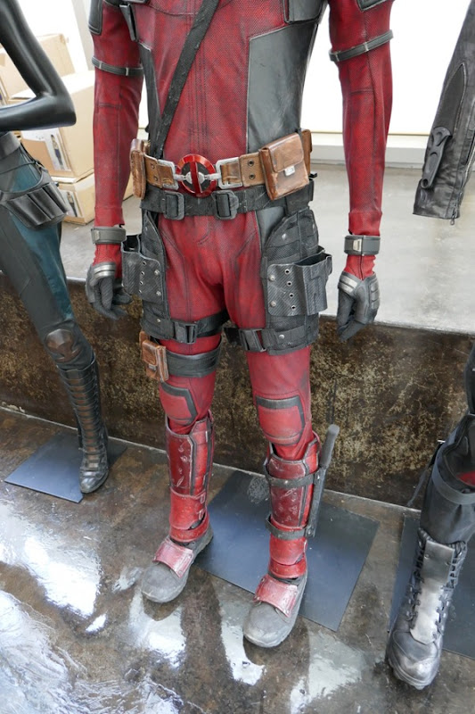 Deadpool 2 costume detail