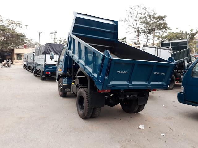 mua xe ben thaco fld345d 3.5 tấn tai hai phong đại lý trọng thiện