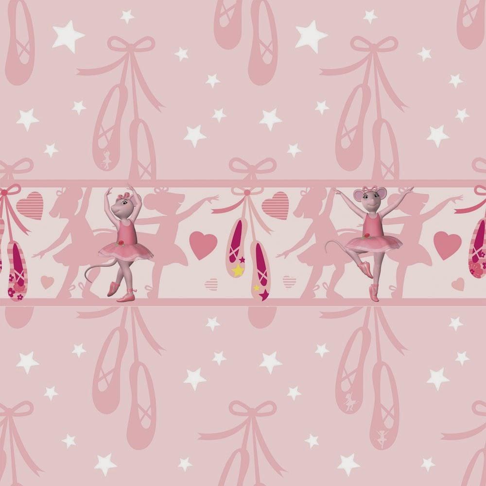 Strawberry Girl Cartoon Wallpaper Angelina Ballerina Wallpaper