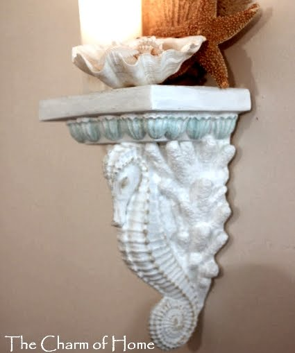 Wall Sconce Shelves To Display Collections Coastal Decor