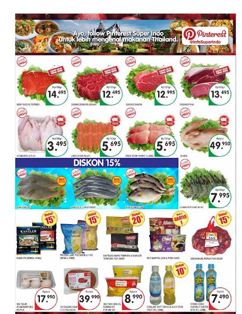 Katalog Super Indo Bandung, Sukabumi, Cirebon, Mojokerto, Kediri, Jombang
