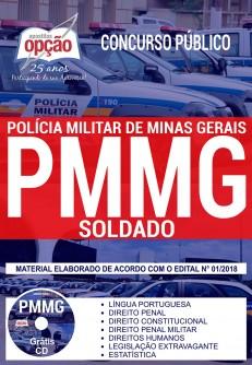 apostila concurso PM-MG CFSd - Curso online Soldado, Apostila Impressa e Apostila Digital em PDF.