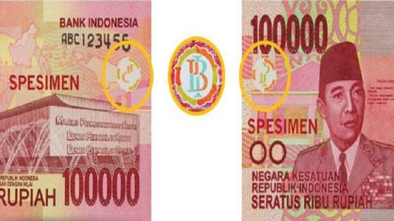 Heboh Logo Palu Arit di Uang 100 Ribu Rupiah