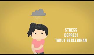 Penyebab Rasa Gatal Lainnya Adalah Stres Depresi Takut Berlebihan