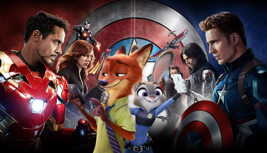 Walt Disney Studios quebra recordes de bilheteria em 2016