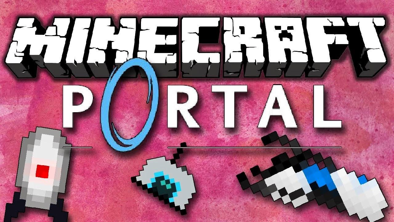 minecraft portal gun mod download 1.7.10