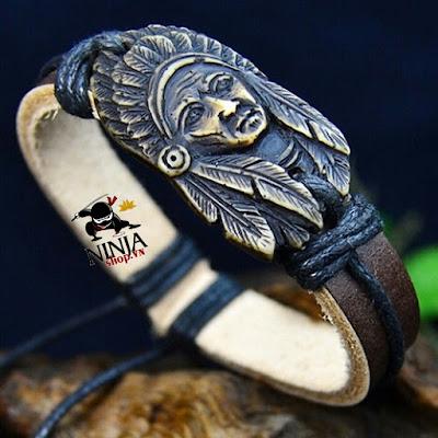 """Vòng đeo cổ thổ dân da đỏ - Indian ' Bùa may mắn  quà tặng thân thương """""""